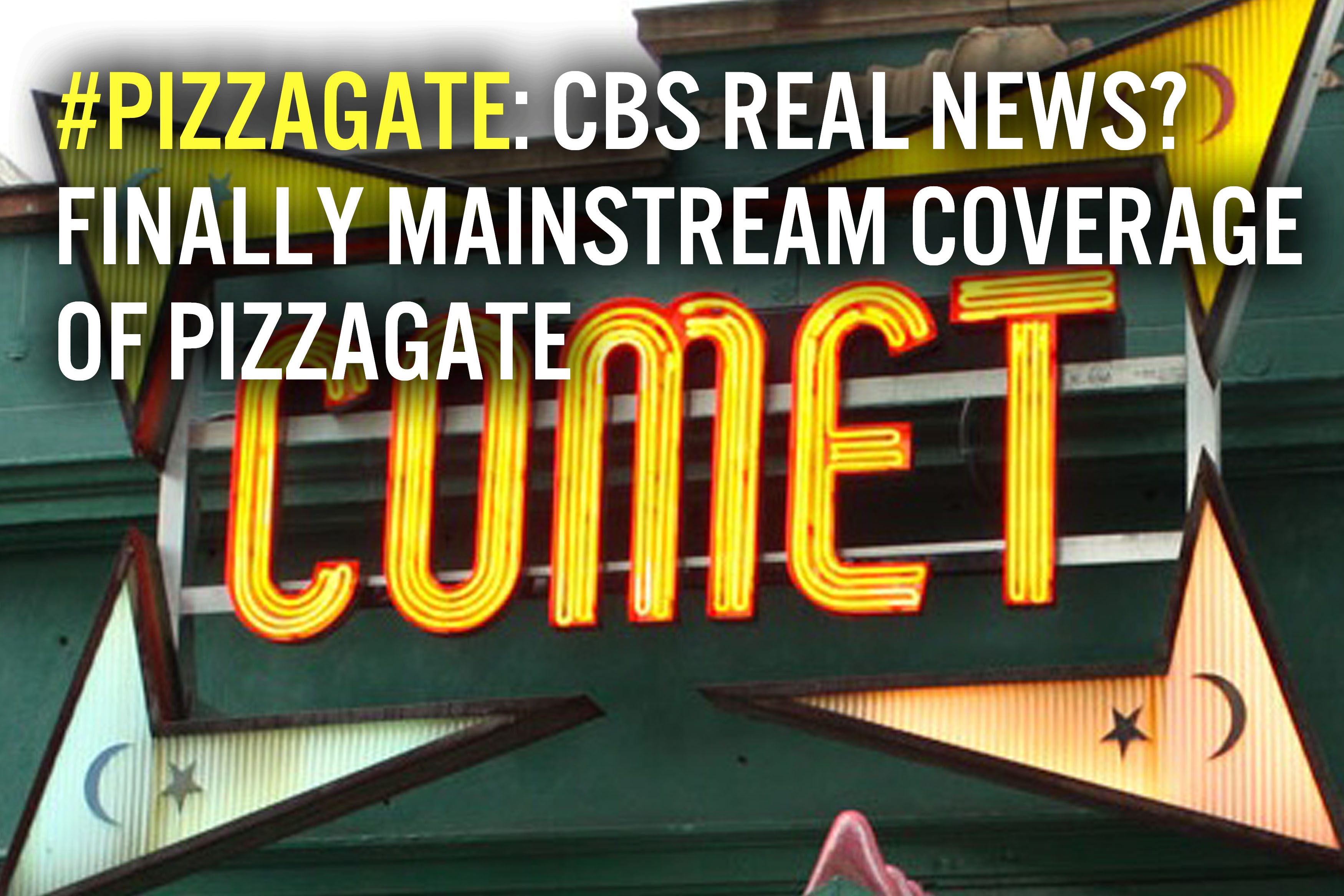 Pizzagate Mainstream