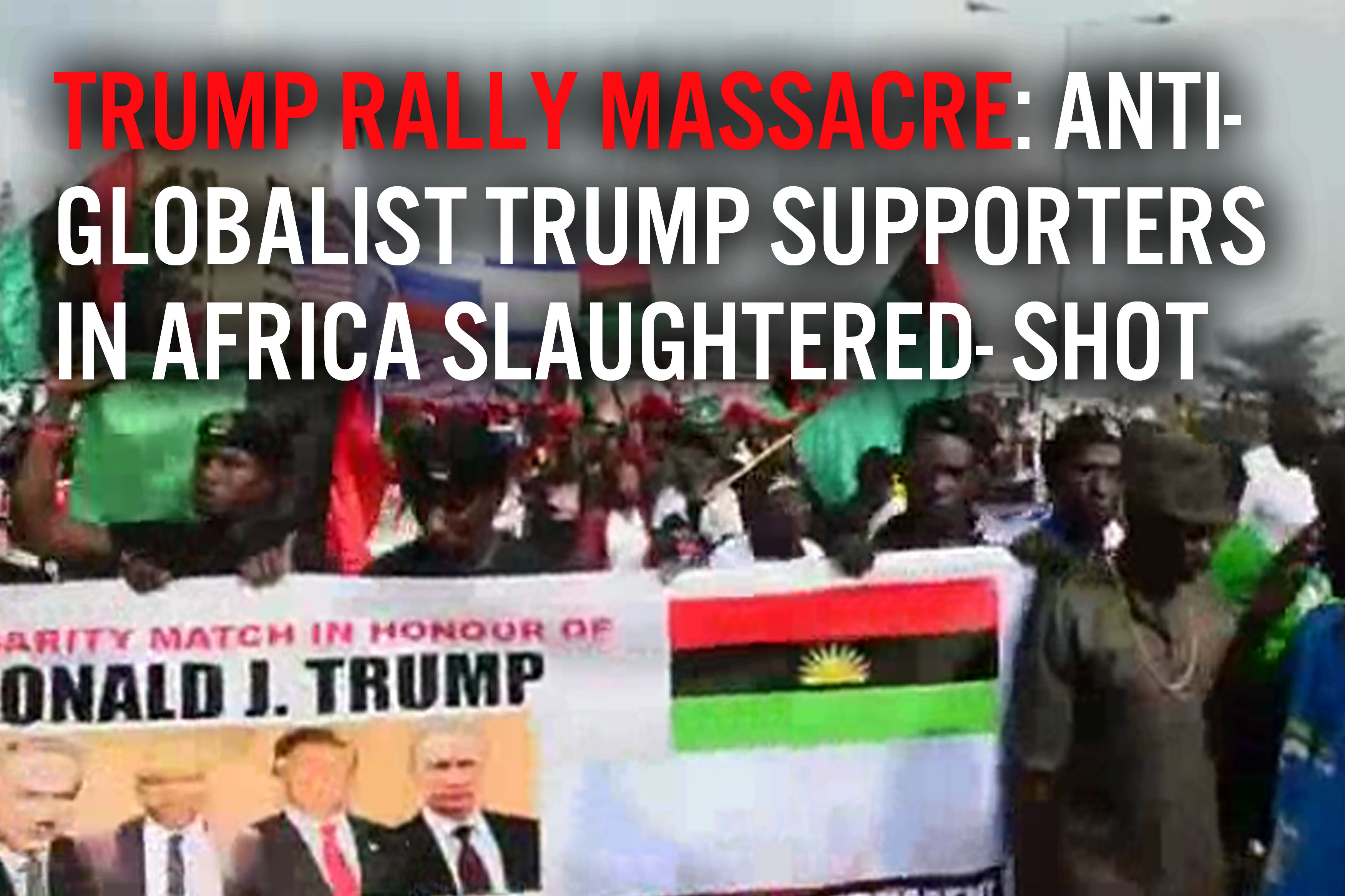 Trump Rally Massacre