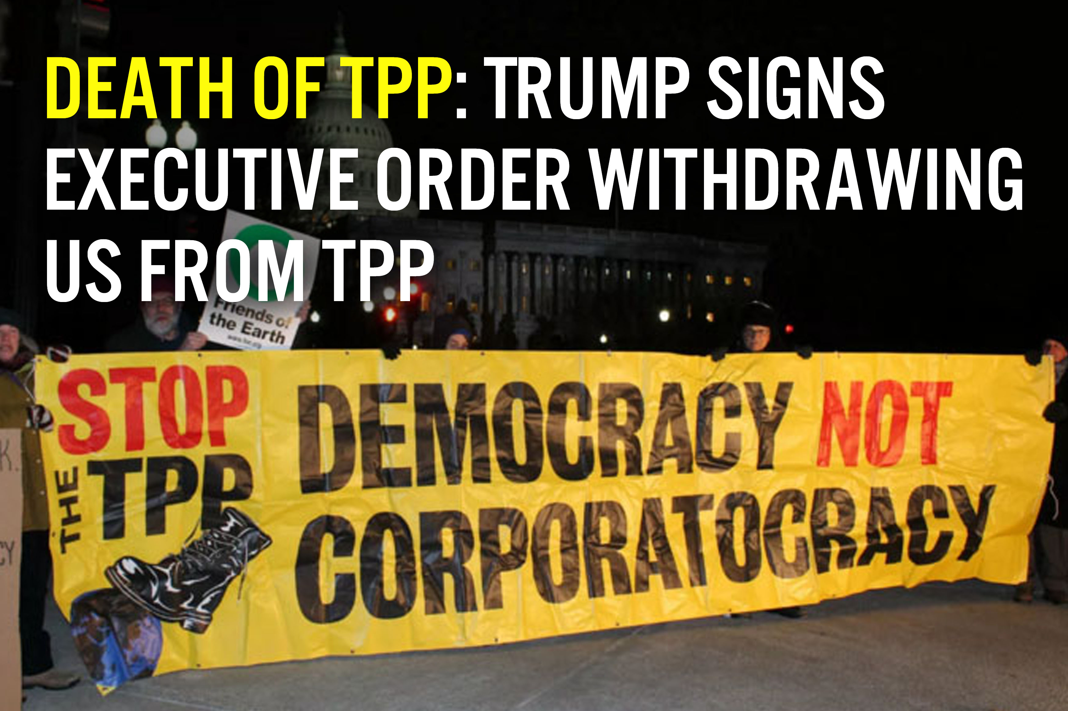 Trump vs. TPP
