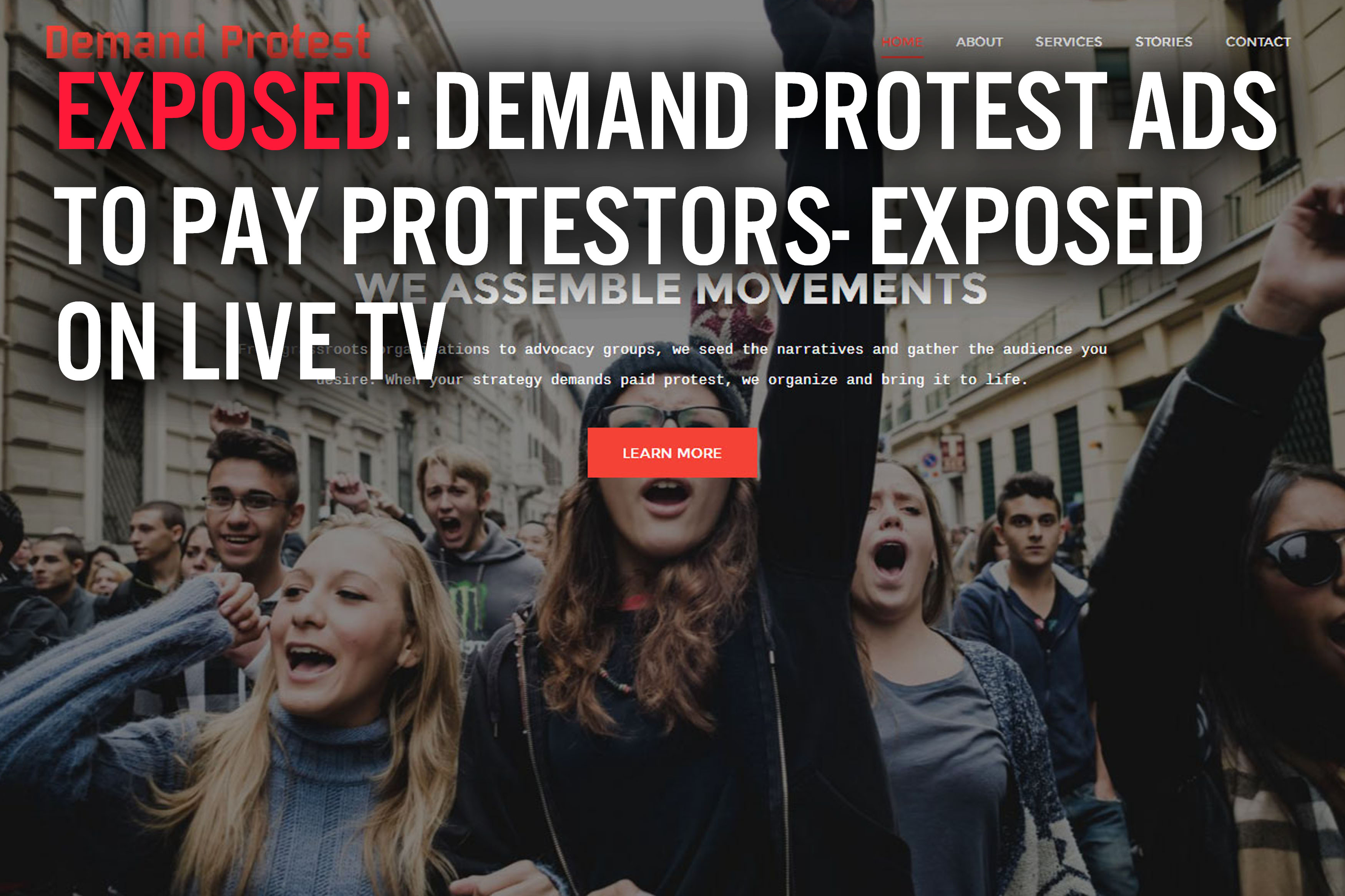 Demand Protest Exposed