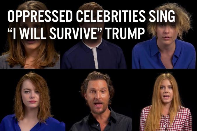 Celebrities Sing Survive