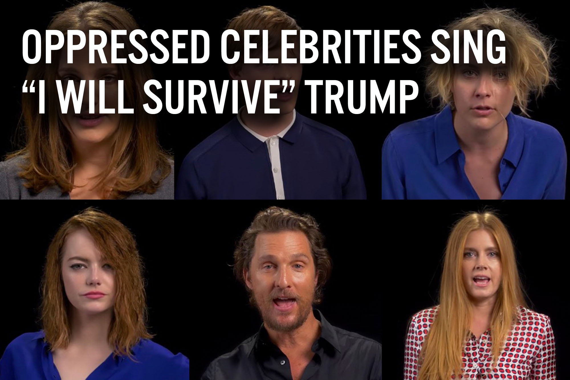 Celebrities Sing Survive