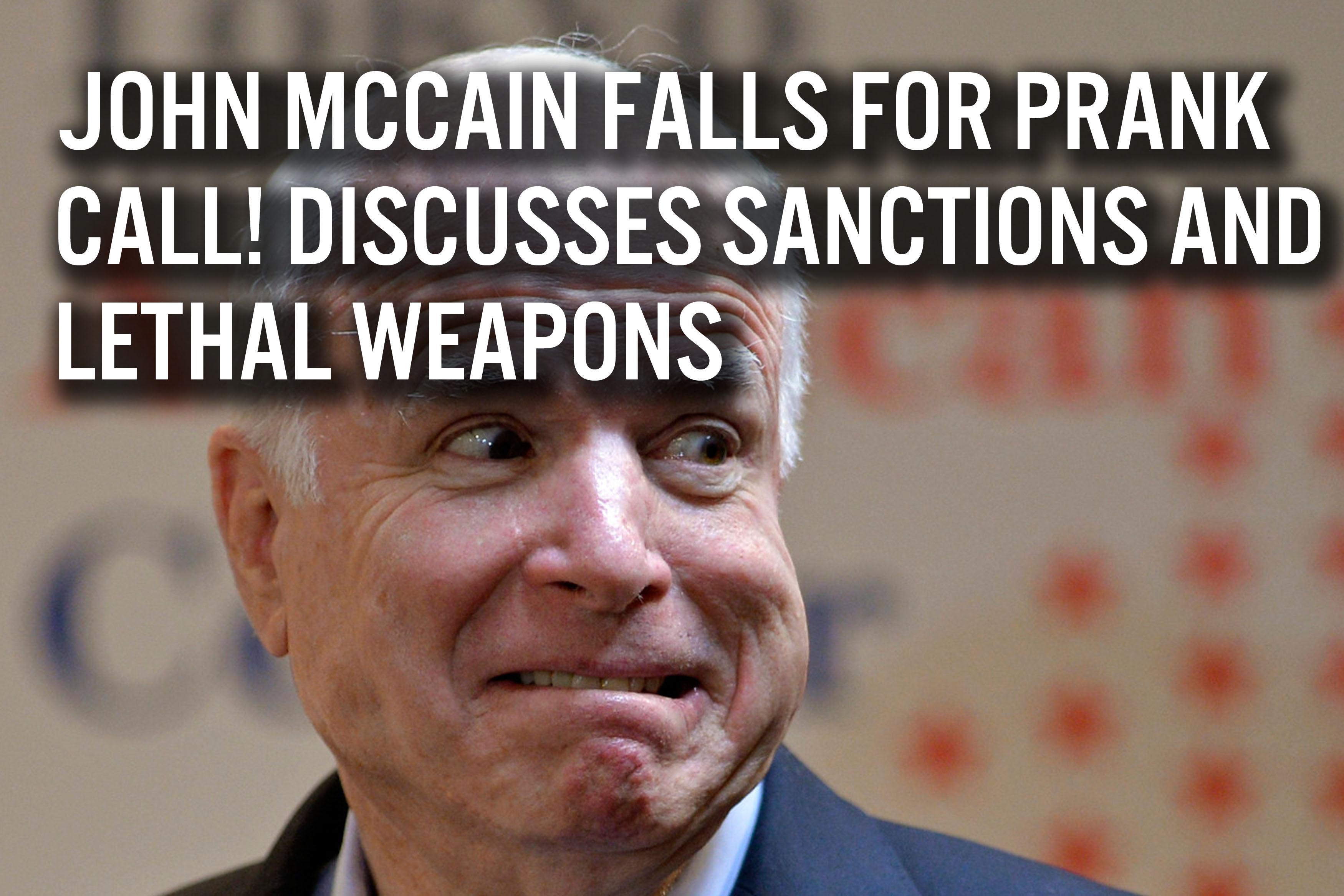 McCain Prank