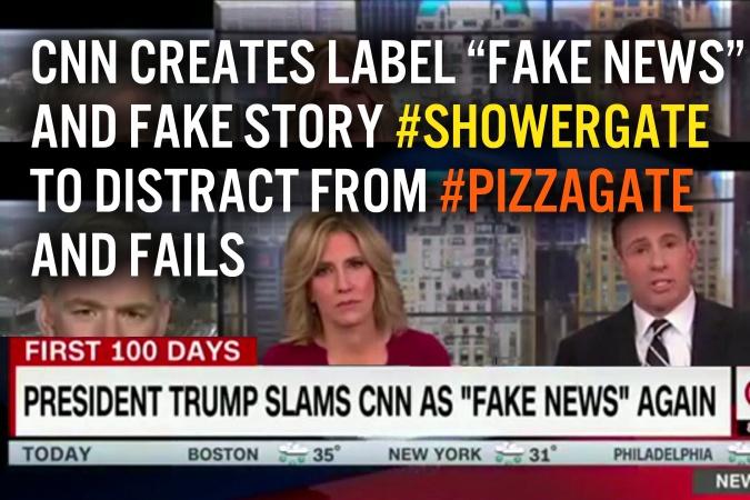 Pizzagate Showergate