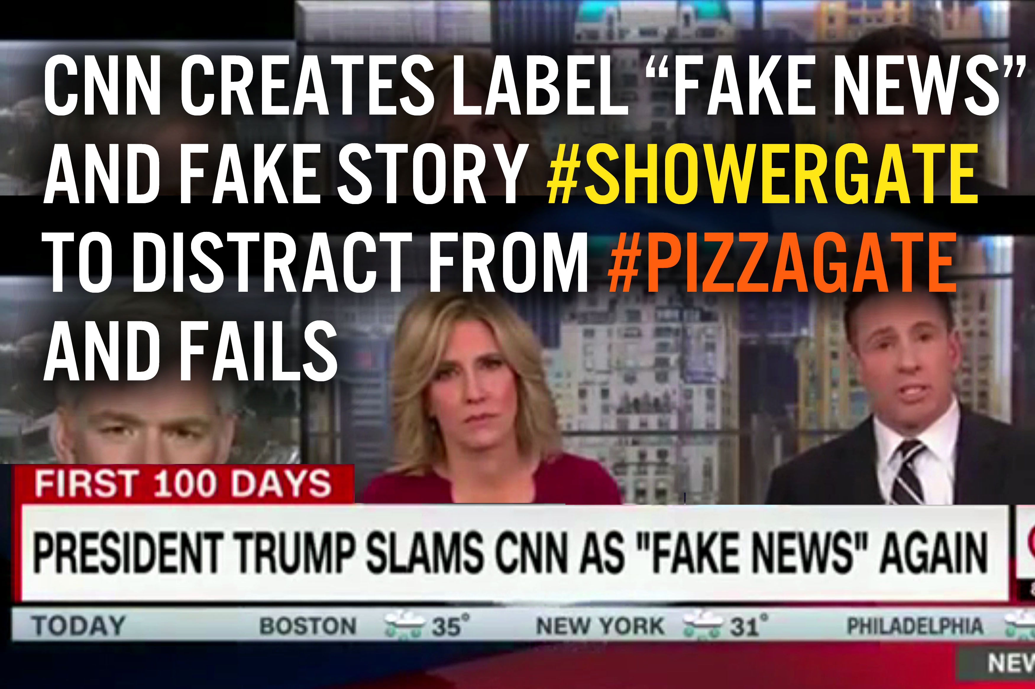 Pizzagate Showergate