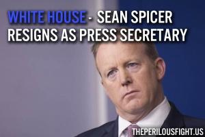 Spicer Resigns