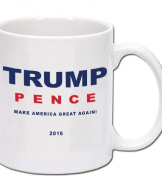 Donald Trump and Mike Pence Coffee Mug