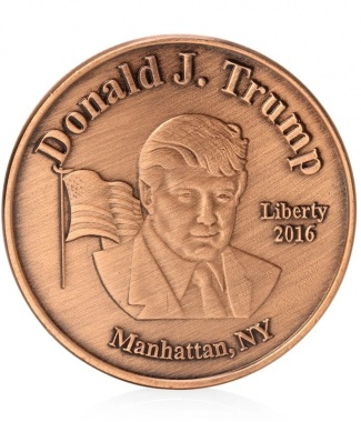 Trump Copper Colored
