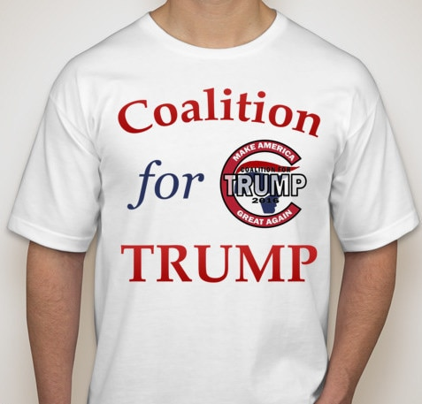 Coalition for Trump T-Shirt
