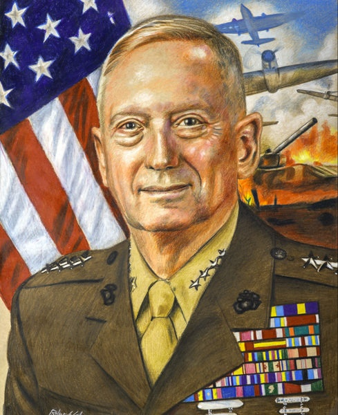 General Mad Dog Mattis Art Print