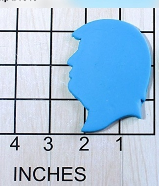 Trump Head Fondant Cookie Cutter AND Stamp