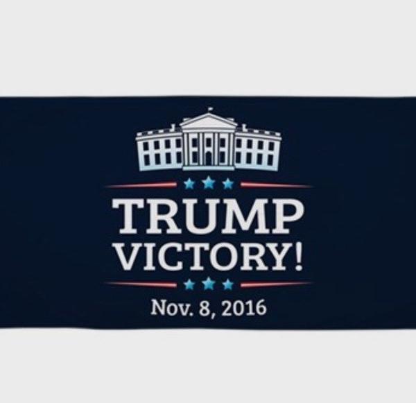 Trump Beach Towel (Victory)