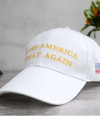 MAGA Hat White