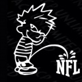 FREE Piss On NFL Sticker Decal