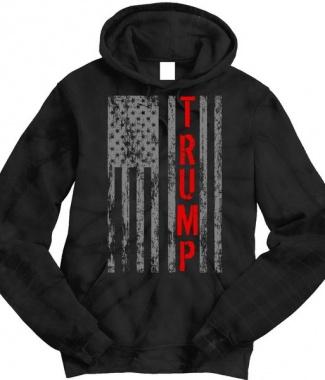 Trump Vintage Flag Hoodie