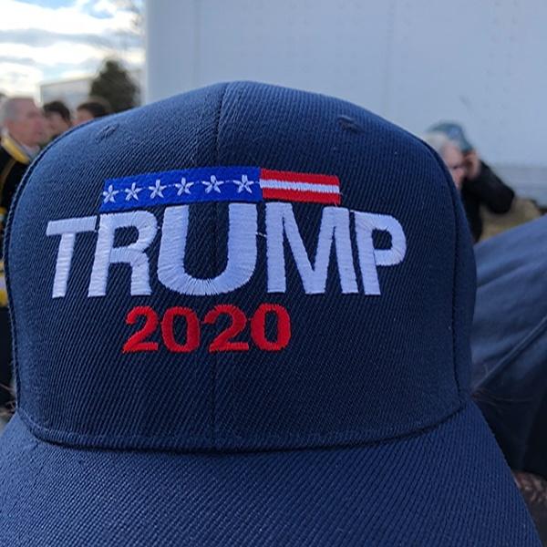 Trump 2020 Hat Blue