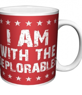 I am with the Deplorables Donald Trump Political Novelty Coffee MugI am with the Deplorables Donald Trump Political Novelty Coffee Mug