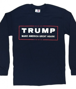 Trump Make America Great Again Long Sleeve T Shirt