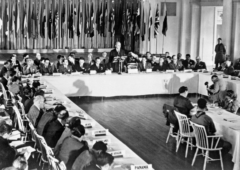 1944- The Bretton Woods Conference