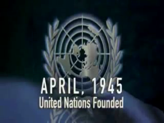 1945- The United Nations Is Founded
