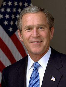 2001- George W. Bush, Jr. Sworn In As President