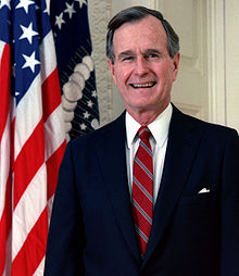 1989- George H.W. Bush Sworn In As President