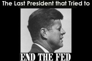 1963- JFK Signs Order To End The CIA And Federal Reserve