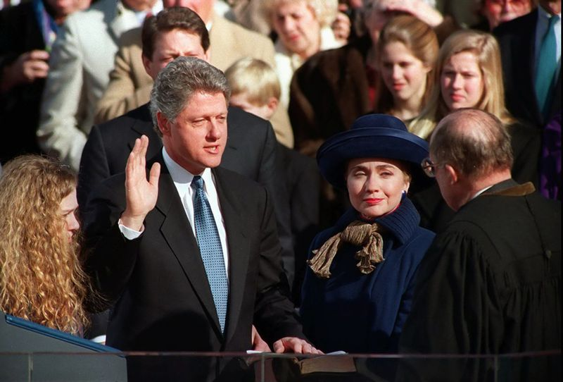 1993- Bill Clinton Sworn In As President