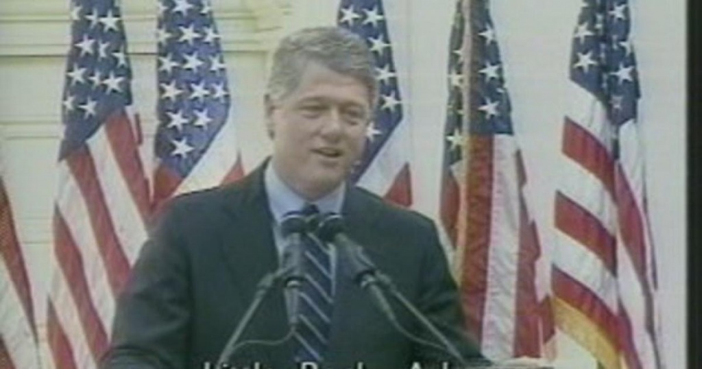 1991- Governor Bill Clinton Runs For President