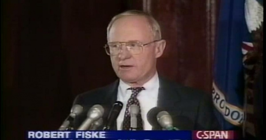1994- Robert Fiske Independent Counsel